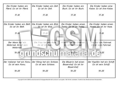 daz possessivpronomen setzleiste 1 15 daz setzleiste deutsch daz deutsch als zweitsprache. Black Bedroom Furniture Sets. Home Design Ideas