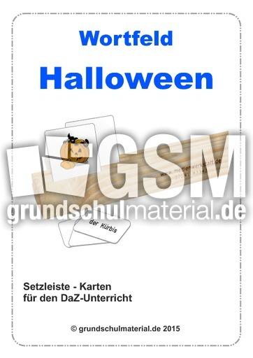 Setzleiste_Wortfeld-Halloween - DaZ-Setzleiste - Deutsch DaZ-Deutsch ...