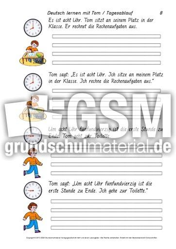 Arbeitsblatt Uhrzeiten Englisch : Arbeitsblatt vorschule uhrzeiten englisch übungen