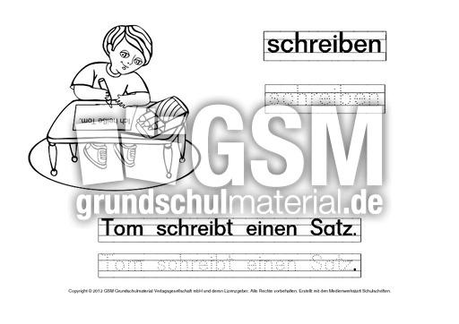 DAZ-Deutsch-lernen-mit-Tom-Verben-Ausmalbilder-1-30 - Ausmalbilder ...