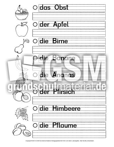 ab daz obst a daz ern hrung daz nach themen deutsch daz deutsch als zweitsprache. Black Bedroom Furniture Sets. Home Design Ideas