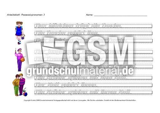 Colorful Esl Possessivpronomen Arbeitsblatt Gallery - Mathe ...