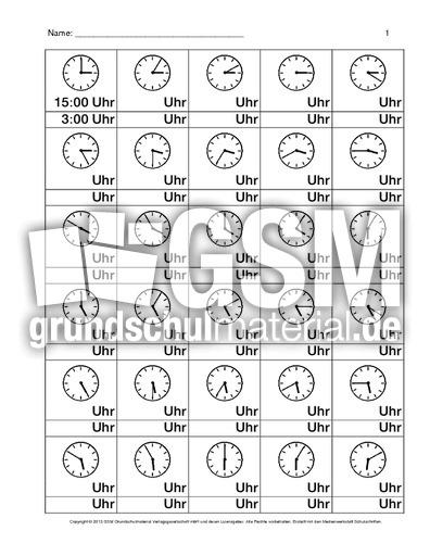 daz uhr arbeitsblatt b 1 8 daz uhrzeiten daz nach themen deutsch daz deutsch als. Black Bedroom Furniture Sets. Home Design Ideas