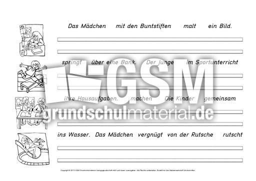 Schön Satz Oder Ein Fragment Arbeitsblatt Bilder - Arbeitsblätter ...