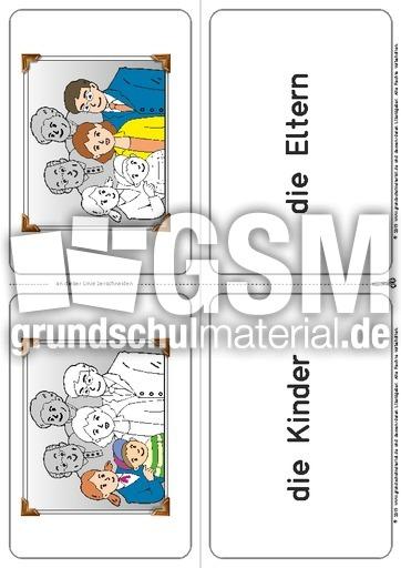 Ausgezeichnet Familie Bei Wort Arbeitsblatt Kostenlos Zeitgenössisch ...