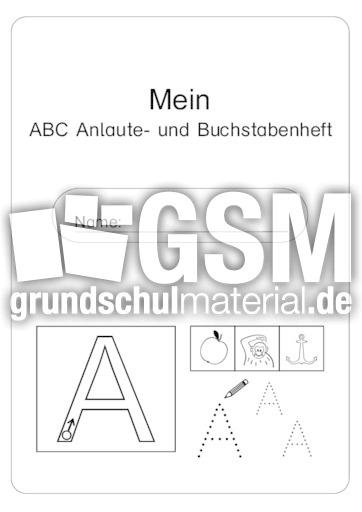 Abc Anlaute Und Buchstaben Deckblatt Anlaute Und Buchstaben