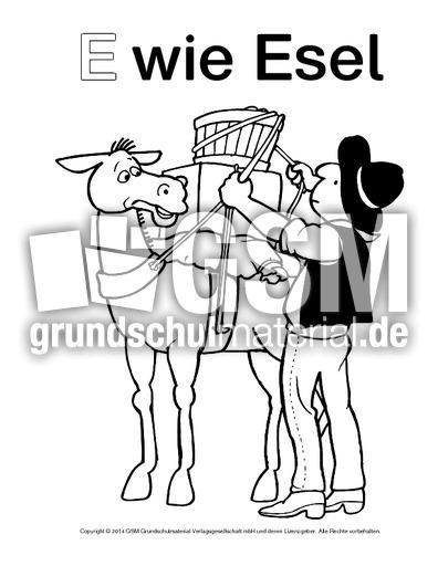 ewieesel1  ausmalbilder zum abc  anlaute  deutsch