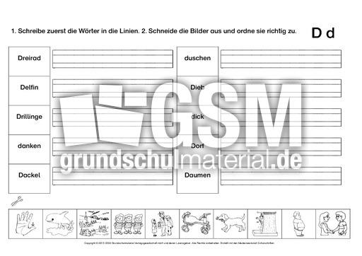 Buchstabe A Grundschule Arbeitsblatt : Ab buchstabe d üben buchstaben b