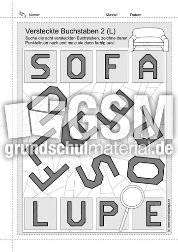 versteckte buchstaben 1 buchstaben versteckt buchstaben deutsch klasse 1. Black Bedroom Furniture Sets. Home Design Ideas