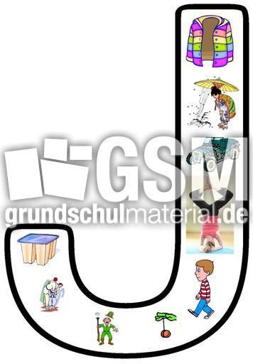 Buchstabe-J-1 - Buchstaben-Anlautbilder-Grafik ...