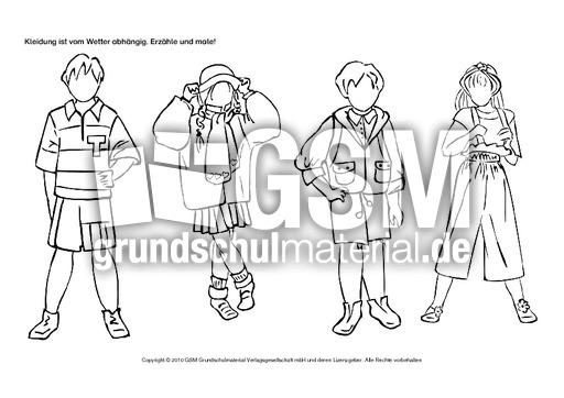 Kleidung-1-2 - Allerlei-zum-Schulanfang ...