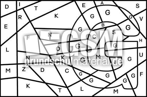 buchstabe g suchen buchstaben suchen grafiken grundschulmaterial fibel deutsch klasse 1. Black Bedroom Furniture Sets. Home Design Ideas