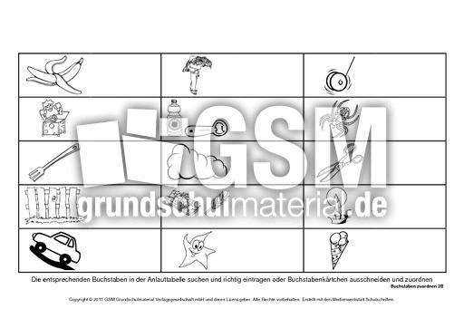 buchstaben zuordnen grundschrift 1 15 buchstaben zuordnen grundschulmaterial fibel deutsch. Black Bedroom Furniture Sets. Home Design Ideas
