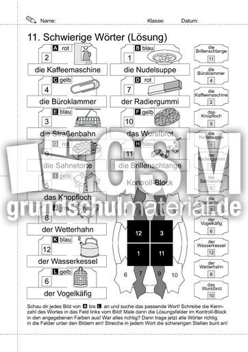 arbeitsblatt vorschule 187 rechtschreib252bungen klasse 4