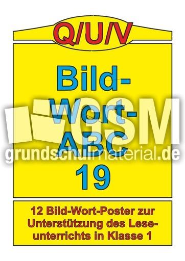 w246rter mit quv bildwortposter lesen deutsch