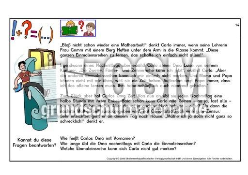 Lesen-Fragen-beantworten-BD-11-15-Seite-31-45 - Lesetexte-fu00fcr-Erstleser - Leseu00fcbungen - Lesen ...