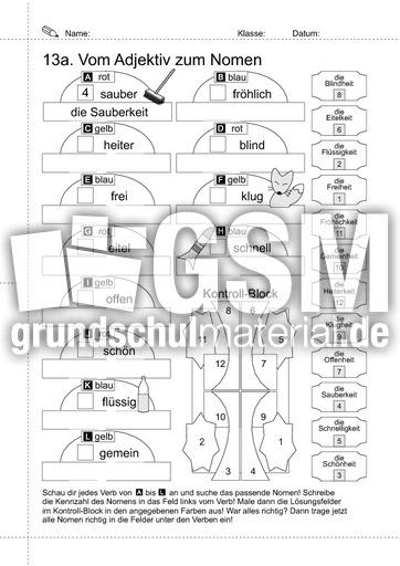 18-LRS-vom Adjektiv zum Nomen - Arbeitsblätter-LRS-2 ...