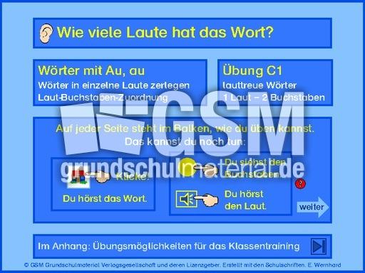 w246rter mit au au lautgetreues schreiben