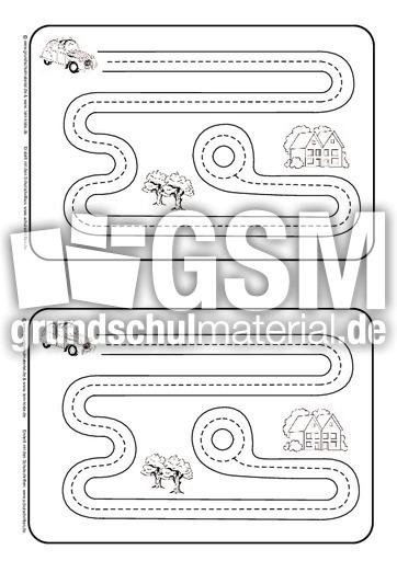 nachspur bungen kurven schwung bungen schreiben lernen schreiben deutsch klasse 1. Black Bedroom Furniture Sets. Home Design Ideas