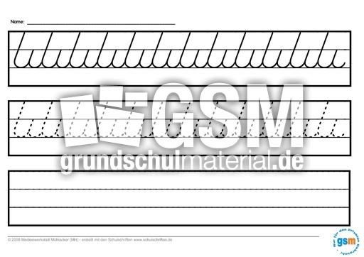 schwung bungen gross 1 schwung bungen schreiben lernen schreiben deutsch klasse 1. Black Bedroom Furniture Sets. Home Design Ideas