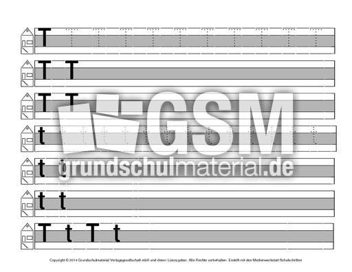 Buchstabe-T - Druckschrift-Mittellinie-grau - Schreiblehrgänge ...