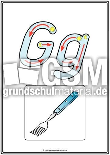 grundschriftdruck g buchstabenhaus druckschrift