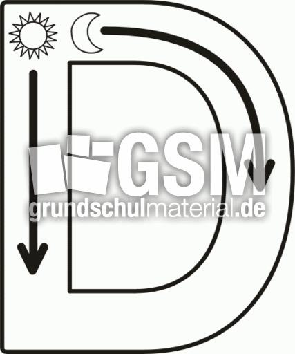 Su00fcd-D-gr - Druckschrift Su00fcd - Nachspurbilder ...