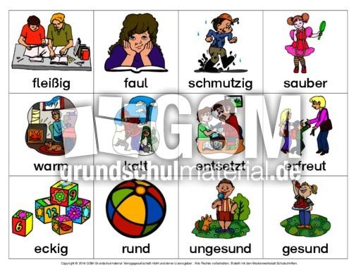 Wortpaare-Adjektive-Gegenteil - Gegenteil-finden ...