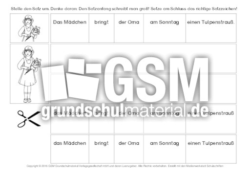 tulpe s tze umstellen 5 s tze umstellen grammatik deutsch klasse 2. Black Bedroom Furniture Sets. Home Design Ideas