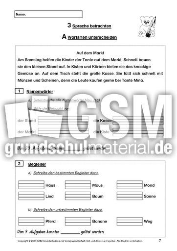 deutsch test ende 2 klasse2 lernstandserhebung