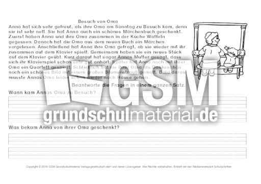 Fragen-zum-Text-beantworten-7 - Arbeitsblätter-Lesetraining - Lesen ...