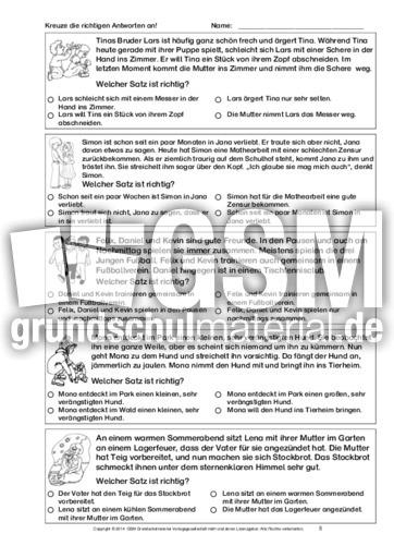 textverst ndnis training 1 bis 6 lernhefte arbeitsbl tter lesetraining lesen deutsch. Black Bedroom Furniture Sets. Home Design Ideas