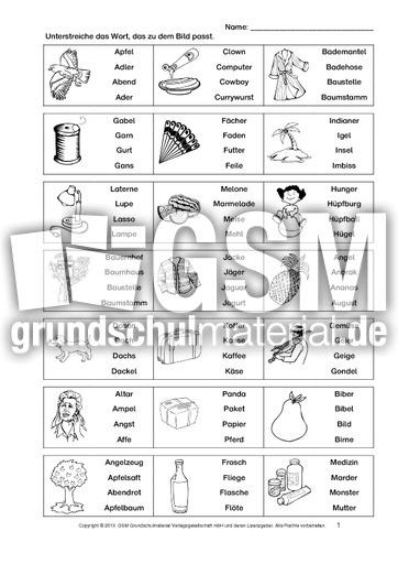 Wortverständnis-Training-1-16 - Arbeitsblätter-Lesetraining - Lesen ...