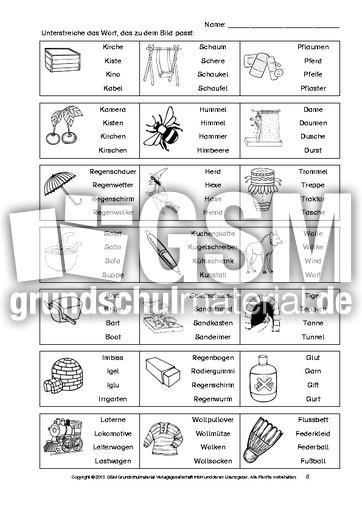 arbeitsblatt vorschule 187 leseverst228ndnistest klasse 4