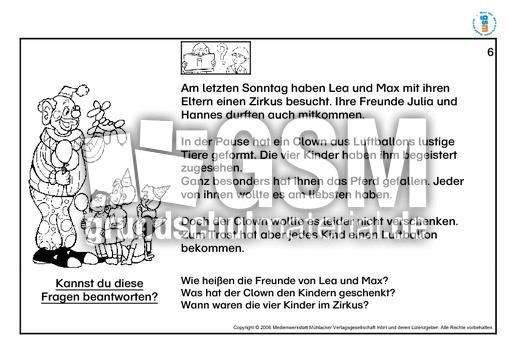 lesetexte f r erstleser 2 lernhefte lesen lesen deutsch klasse 2. Black Bedroom Furniture Sets. Home Design Ideas