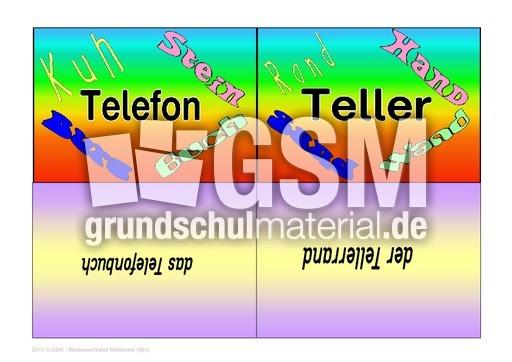 Zusammengesetzte Namenwu00f6rter - Namenwu00f6rter bilden - Lesekartei - Lesen - Deutsch Klasse 2 ...