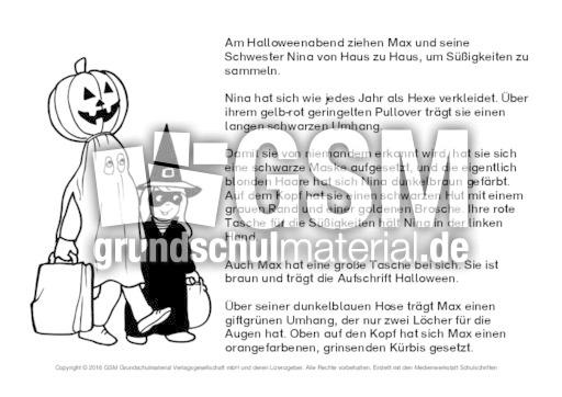 Beste Halloween Malblatt Ideen - Dokumentationsvorlage Beispiel ...