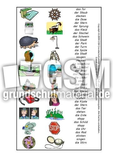 arbeitsblatt vorschule 187 zusammengesetzte nomen