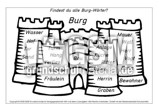 burg w rter a m nomen zusammensetzen nomen zusammensetzen zusammengesetzte nomen nomen. Black Bedroom Furniture Sets. Home Design Ideas