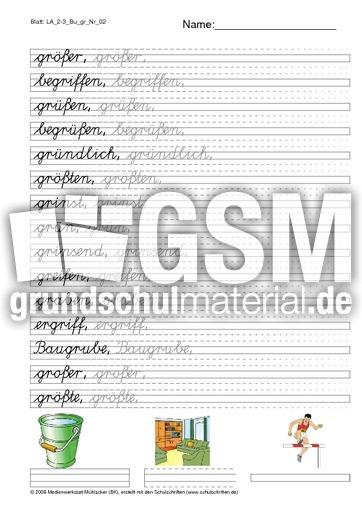 arbeitsblatt vorschule 187 lateinische ausgangsschrift