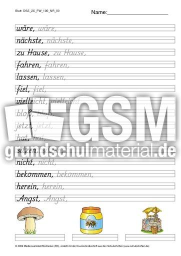 DSS_2S_FW_100_NR_00 - Schu00f6nschreiben Grundschrift - Schu00f6n ...