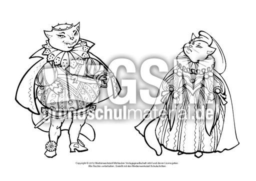 Ausmalbild Konig Und Konigin 6 Ausmalbilder Paula Jonathan