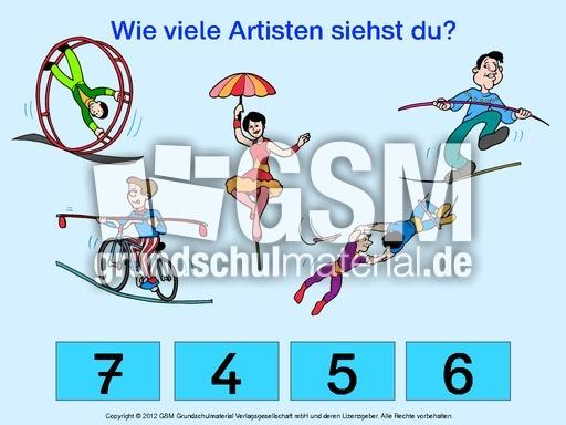 Zirkus-zu00e4hlen-bis-10-interaktiv-2 - Rechenu00fcbungen Zirkus - Thema Zirkus - Werkstatt Materialien ...