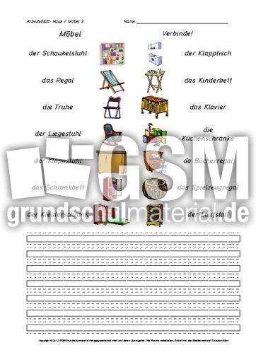 arbeitsblatt haus mobel 3 pdf
