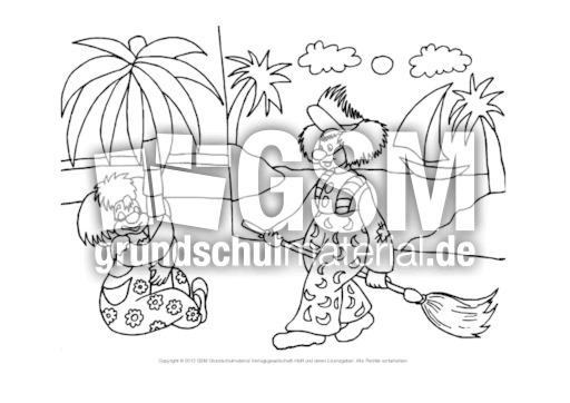 Ausmalbild Im Zirkus Quer 4 Ausmalbilder Zirkus Werkstatt Zirkus