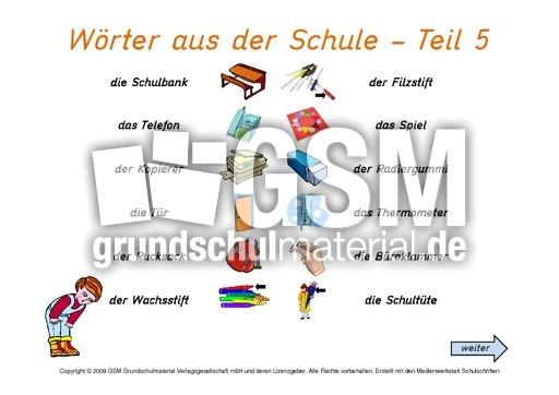 daz schulsachen interaktiv 5 deutsch als zweitsprache computer bungen deutsch klasse 3. Black Bedroom Furniture Sets. Home Design Ideas