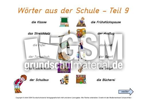 daz schulsachen interaktiv 9 deutsch als zweitsprache computer bungen deutsch klasse 3. Black Bedroom Furniture Sets. Home Design Ideas