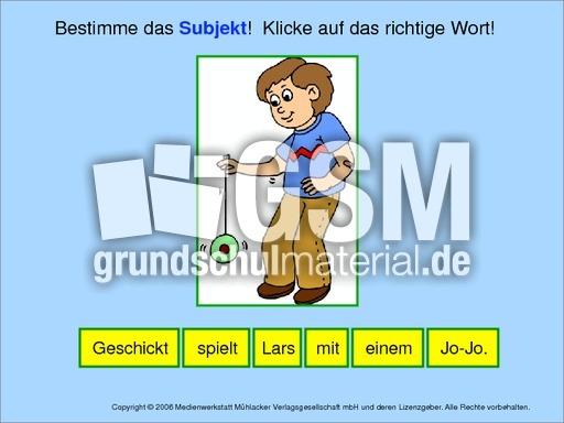 Subjekt-bestimmen-1 - Grammatik - Computeru00fcbungen ...
