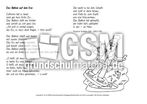 Büblein Eis Guell Ausmalen Ausmalbilder Wintergedichte Werkstatt