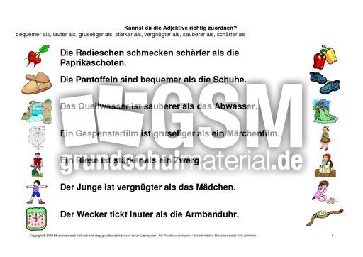 arbeitsblatt vorschule 187 steigerung adjektive englisch 6